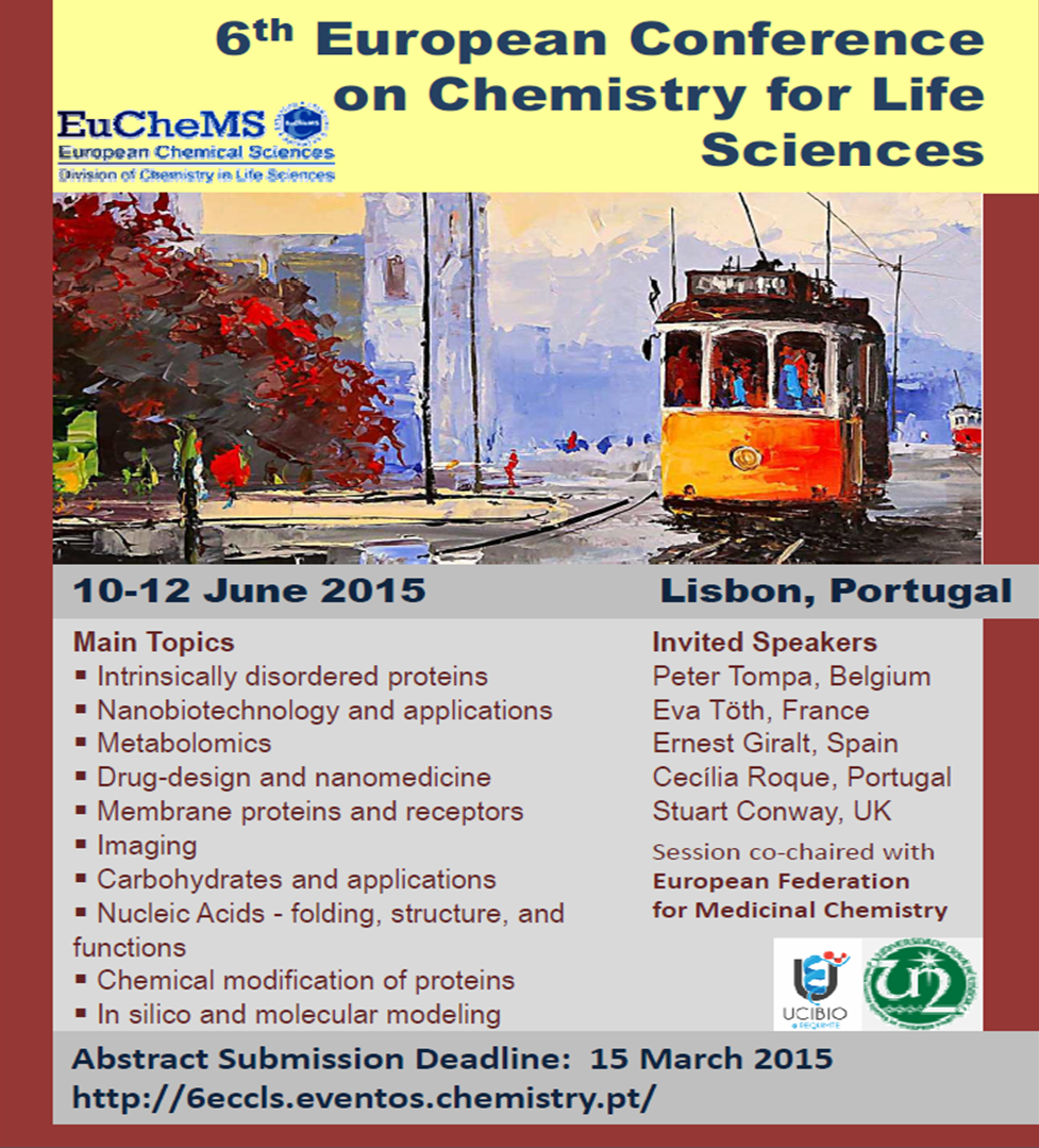 6th European Conference on Chemistry for Life Sciences